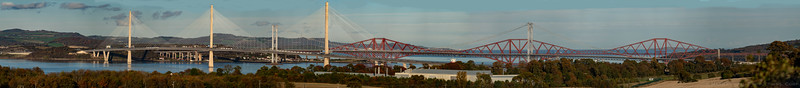 Firth of Forth Bridges Panorama