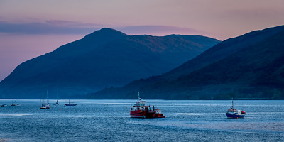 Last Light Loch Linnhe