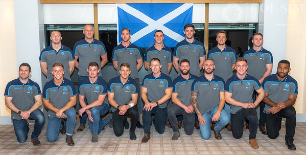 Scotland Rugby 7s Team Welcome drinks