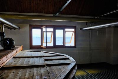 Washbacks (fermenting barley beer) at Ardbeg
