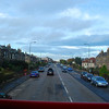 After breakfast we took a bus into Edinburgh to see the sights. Nancy & I were in the front seat on the top level.