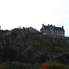 Edinburgh Castle as seen from the city.