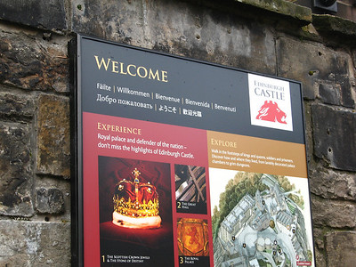 Scotland - Edinburgh Castle
