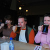 Wax, Chris, and Michelle...this was really good beer and the chips (french fries) were voted #1 on the trip.