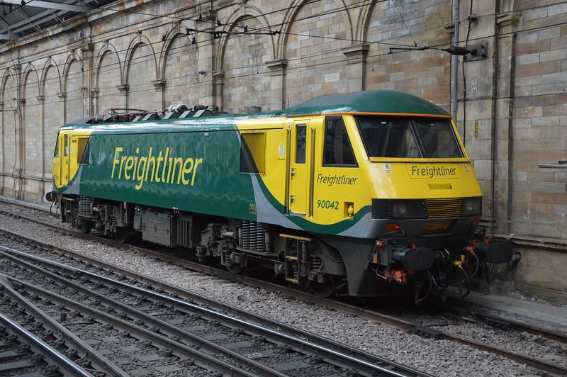 90042 Edinburgh Waverley 09/07/16