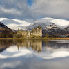 Kilchurn Castle Winter Reflection -1