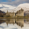 Kilchurn Castle Winter Reflection -2
