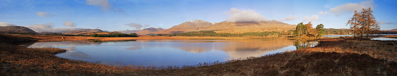 Loch Tulla Pano (early morning)
