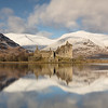 Kilchurn Castle Winter Reflection -3