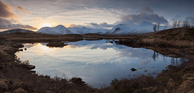 The Black Mount (Over Lochan na Strainge), Rannoch Moor, Scotland