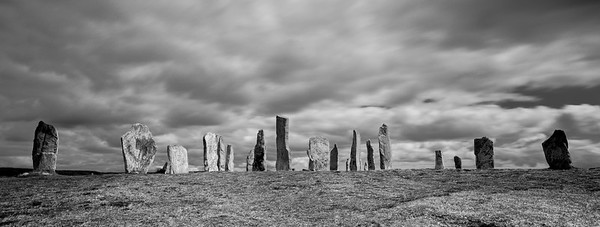 Callanish Stones, Callanish, Isle Of Lewis, Outer Hebrides, Scotland.