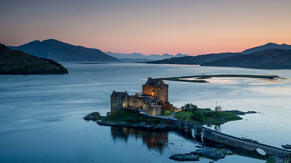 Castle Eilean Donan - the lights are on is there anyone in?