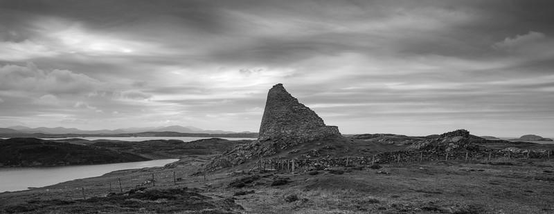 Dun Carloway Broch Pano