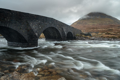 The bridge at Glen Sligachan