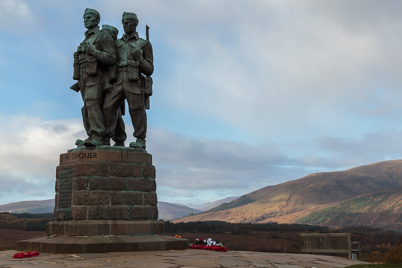 The Commando Memorial, Loch Ness