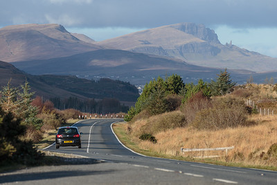 The road to Portree
