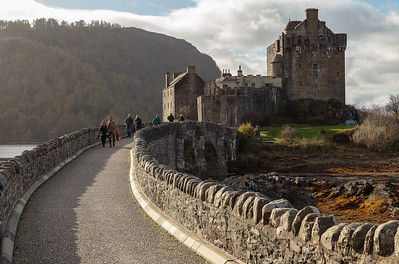The bridge, Eilean Donan Castle