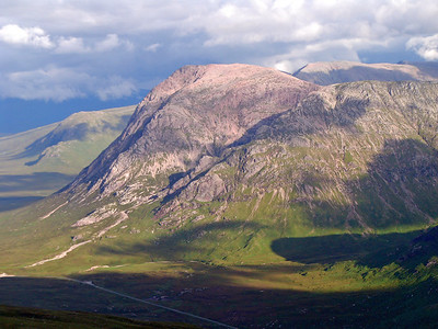 The Buachaille in evening light