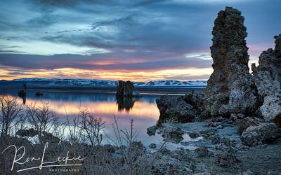 Sunrise at...  Mono Lake, Lee Vining Eastern Sierras, California