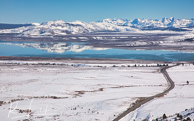 Winter at Mono Lake, Lee Vining, Eastern Sierras, California
