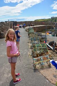 Keira Emma Fife Coast Crail July 2014