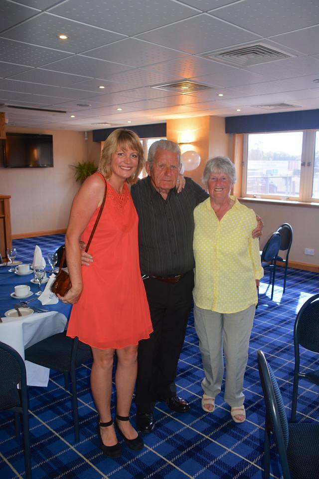 Jan Eddie Janet Scotland Granny Grandad Golden Wedding July 2014