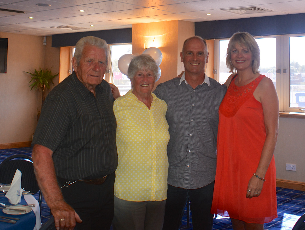 Eddie Janet Brian Jan Scotland Granny Grandad Golden Wedding July 2014
