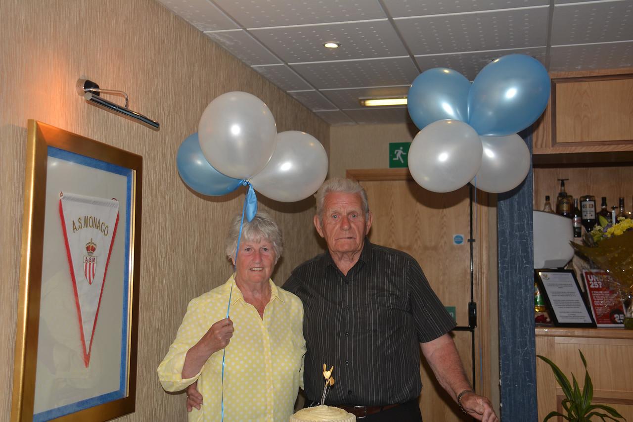 Janet Eddie Scotland Granny Grandad Golden Wedding July 2014