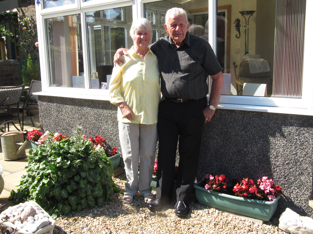 Janet Eddie Scotland Granny Grandad Golden Wedding July 2014