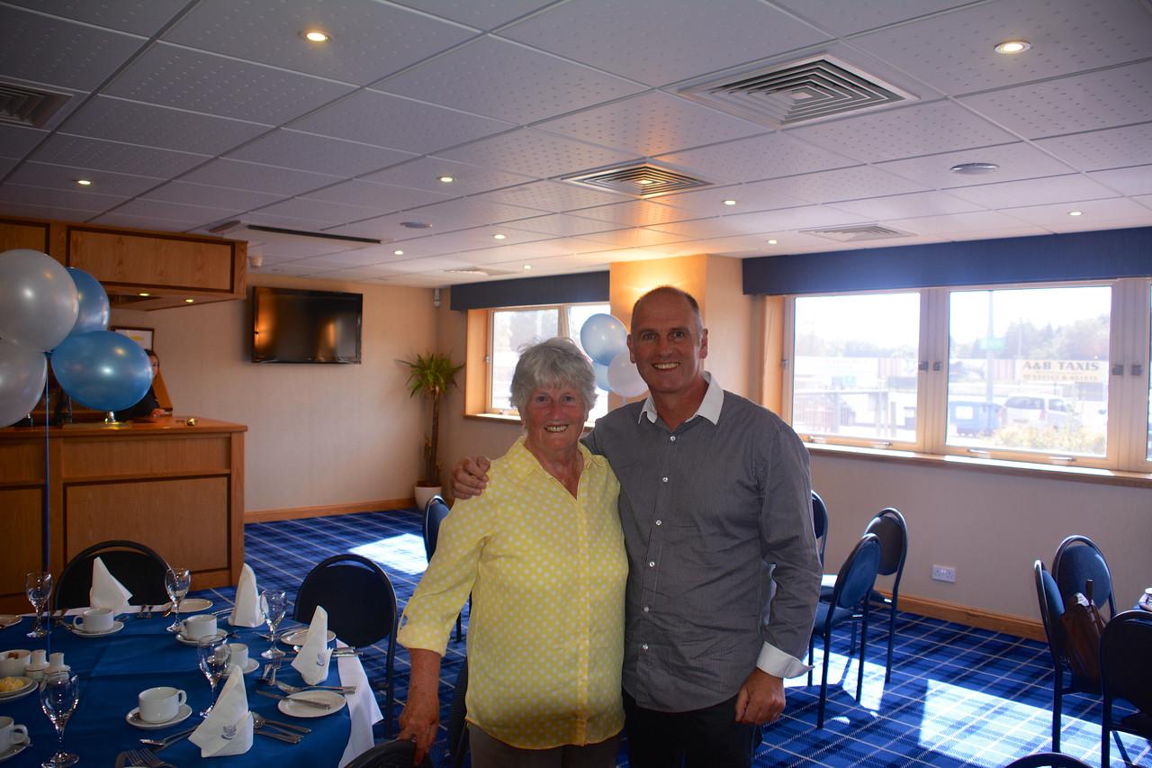 Janet Brian Scotland Granny Grandad Golden Wedding July 2014
