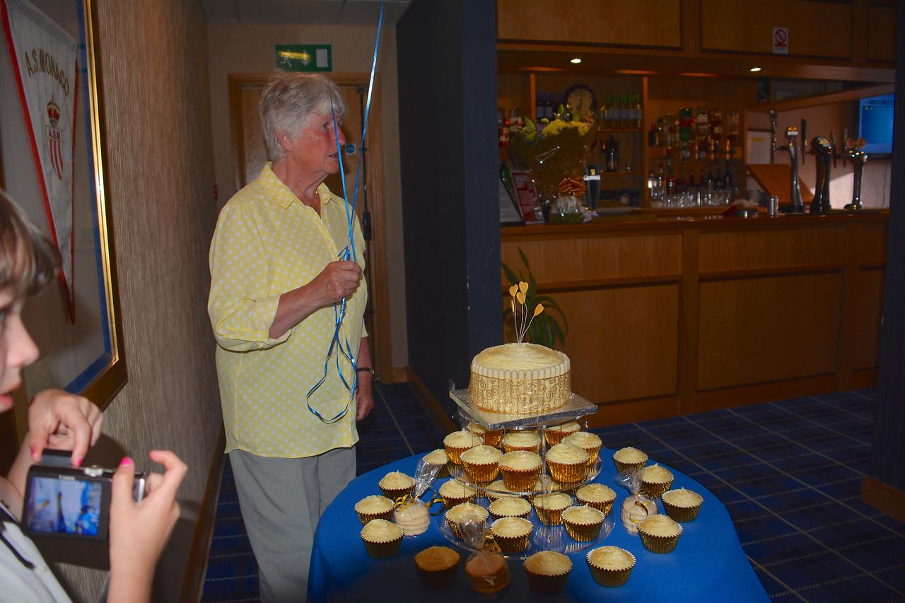 Janet Lorn Scotland Granny Grandad Golden Wedding July 2014