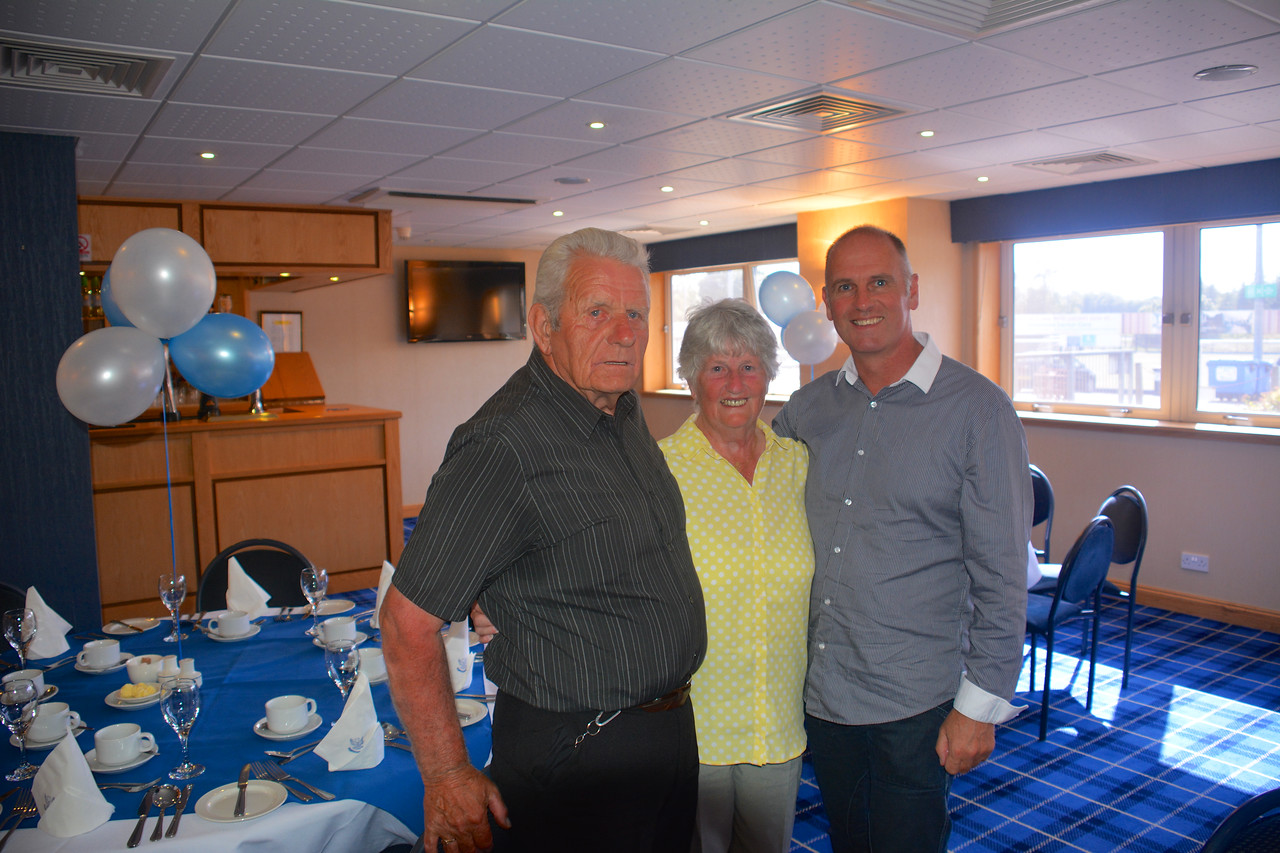 Eddie Janet Brian Scotland Granny Grandad Golden Wedding July 2014