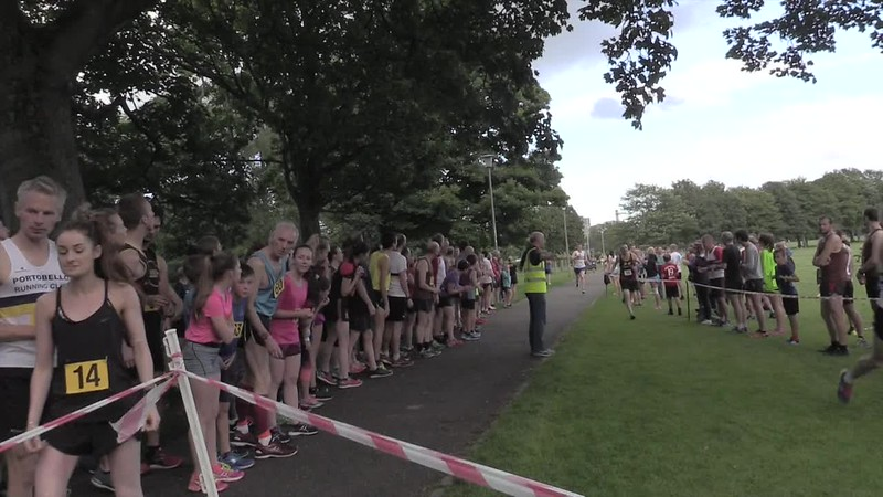 Sri Chinmoy Races 3 x 1 mile relays 26 July 2017, The Meadows, Edinburgh
