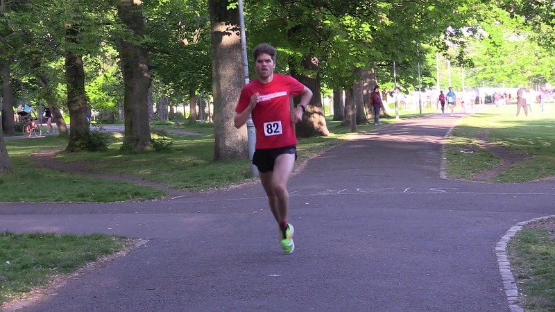 Sri Chinmoy Races 2 miles 23 May 2018 The Meadows Edinburgh