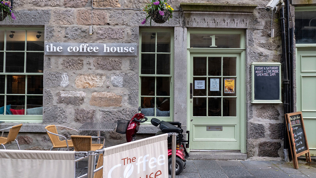 The Coffee House Aberdeen Vegan Guide