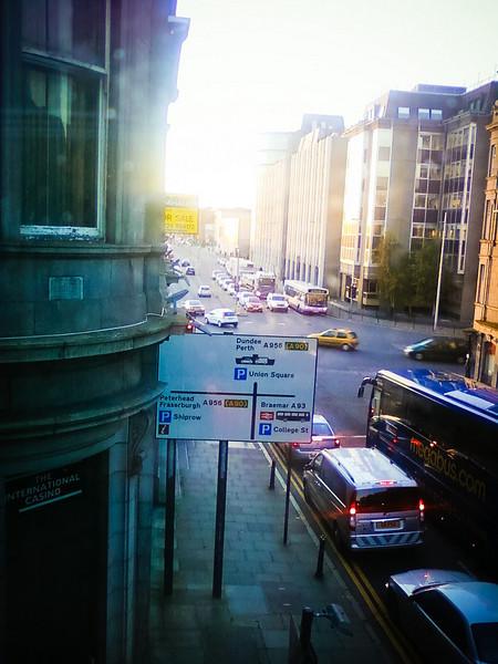 November 3 - Aberdeen breakfast