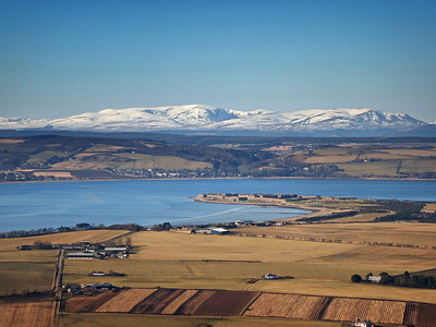 Moray Firth with Fort George