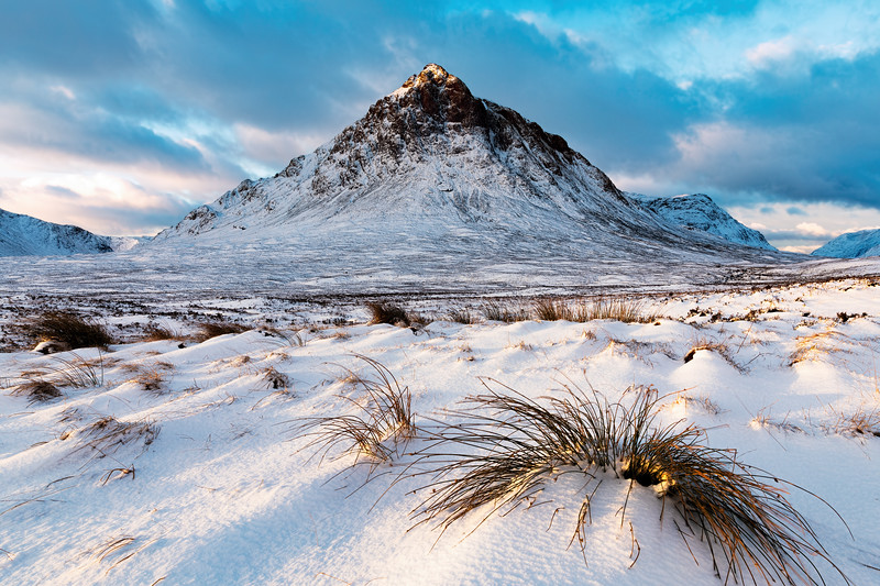 First Light Over Buaichaille Etive Mor