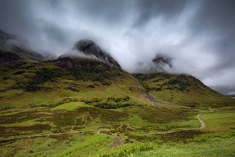 The Three Sisters of Bidean nam Bian