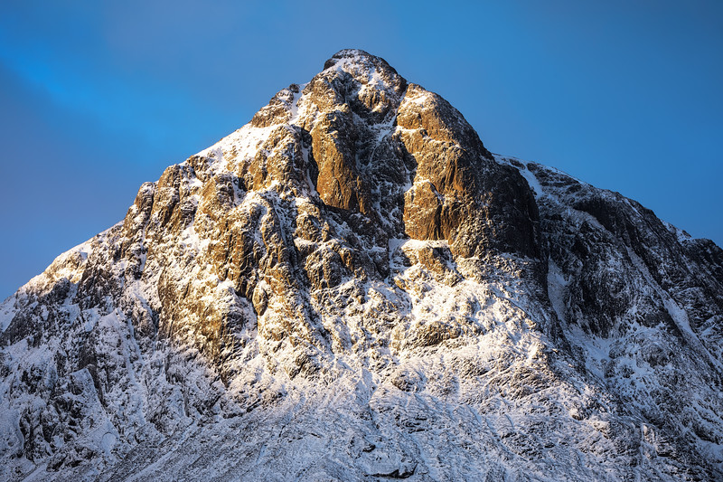 First Light on the Summit of Buachaille Etive Mor