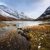 Loch Achtriochtan in Winter