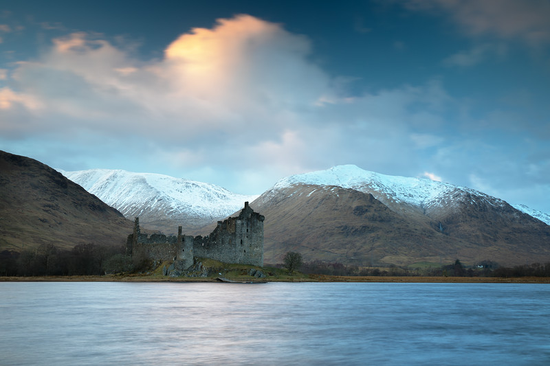 Winter Sunset at Kilchurn Castle