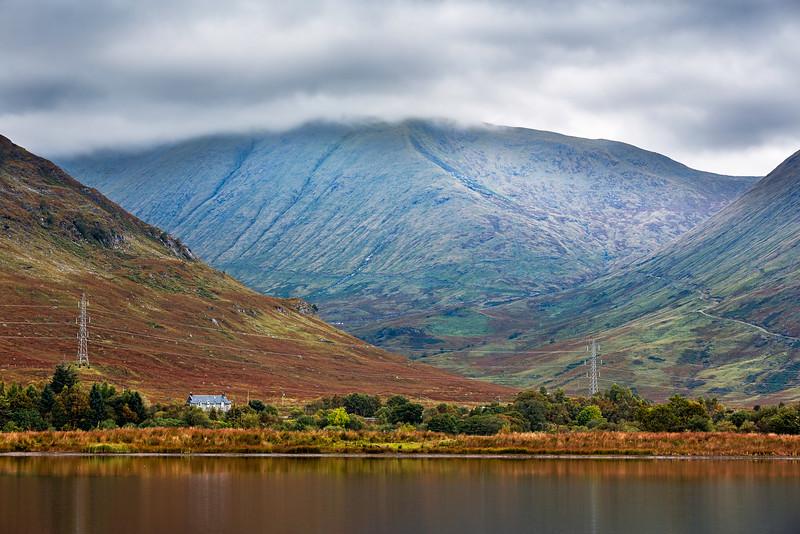 Overlooking Ben Cruachan from Loch Awe