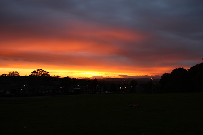 Sunset over Johnstone