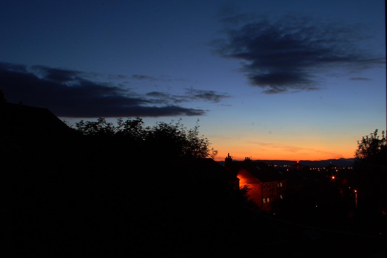Johnstone after sunset