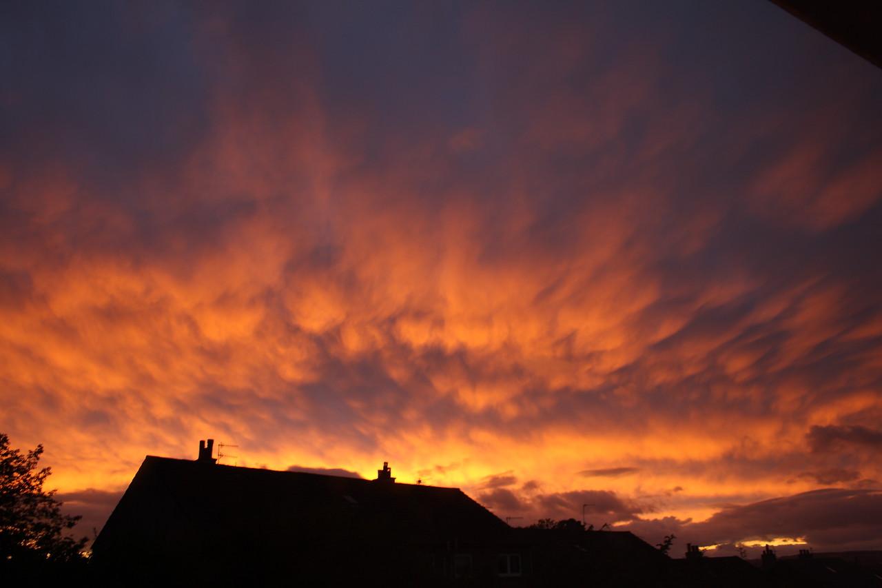 Sunset over Johnstone