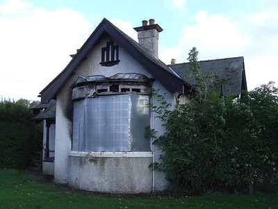 The former park keepers house at Shanks Park in Johnstone