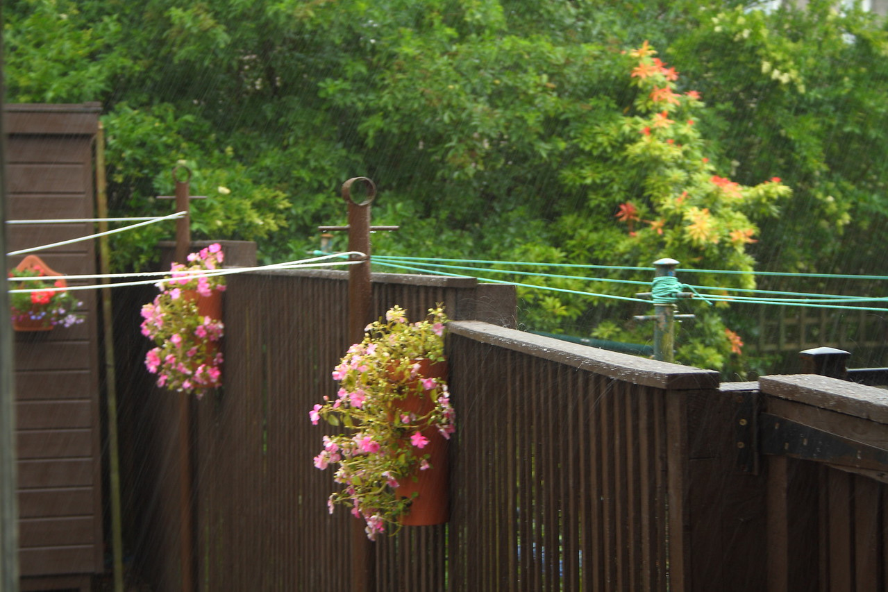 Typical summer rain!