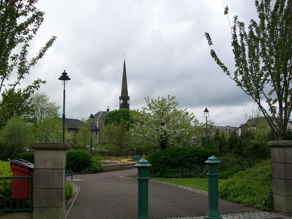 Ludovic Square with the High Parish Church in the background
