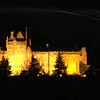 Hogmany illumination of Brodick Castle<br /> 31 December 2009